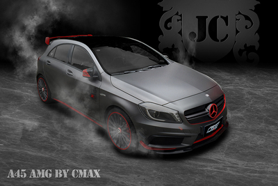BENZ 奔驰 A45 AMG 2
